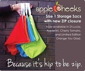 *AppleCheeks Multi-Purpose Storage Sac - Size 1