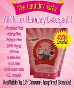 The Laundry Tarts Laundry Detergent 45/90 Loads