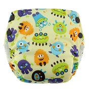Blueberry Basix All-In-One Sized Cloth Diaper