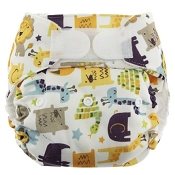 Blueberry Simplex All-in-One One-Size Cloth Diaper - Hook & Loop