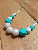 Between You and Me Chunky Carribean Teething Necklace