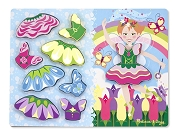 Melissa & Doug Fairy Dress Up Chunky Puzzle