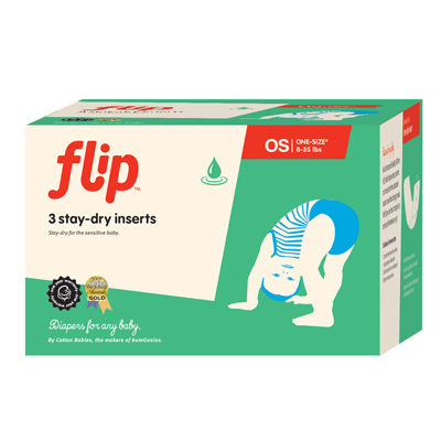 Flip Stay Dry Inserts - One-Size - Flip Diapers Canada ...