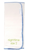 Nuggles! Naturals Bamboo/Organic Cotton Insert - NIGHTTIME