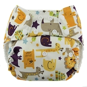 Blueberry (formerly Swaddlebees) Simplex All-in-One One-Size Cloth Diaper - Snap