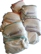sustainablebabyish Snapless-Mini Fitted Cloth Diaper