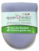 AppleCheeks Stay-Dry Rayon from Bamboo/Cotton Boosters - 2 Pack