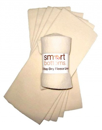 Smart Bottoms Stay Dry Liners 5 Pack Smart Bottoms