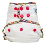 Sweet Pea Bamboo One-Size Fitted Cloth Diaper