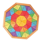 *Grimm's Mini Creative Puzzle - Octagons (72 Pieces)