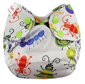 Blueberry Simplex Newborn All-In-One Cloth Diaper