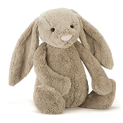 *Jellycat Bashful Beige Bunny - Medium 12
