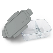*Bentgo Glass Snack Container - 2 Compartment