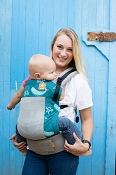 *Tula Free-to-Grow Baby Carrier - Coast Mesh - Narwhal