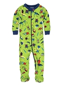 Hatley Cute Bugs Footed Coverall