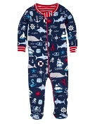 Hatley Vintage Nautical Footed Coverall