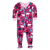 Hatley Nordic Forest Footed Coverall