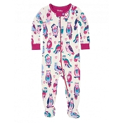 Hatley Happy Owls Footed Coverall