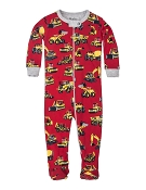 Hatley Heavy Duty Machines Footed Coverall