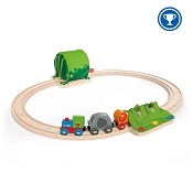 *Hape Jungle Train Journey Set - 13 Piece