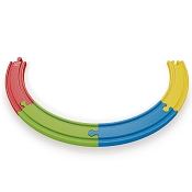 *Hape Rainbow Track Pack - 4 Piece