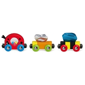 *Hape Lucky Ladybug & Friends Train