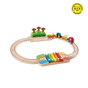 *Hape My Little Railway Set - 17 Piece