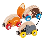*Hape Tactile Animal Train