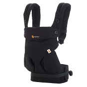 Ergobaby ERGO Four Position 360 Baby Carrier - Pure Black