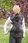 LennyLamb Ergonomic Wrap Conversion Carrier - Toddler - Illumination