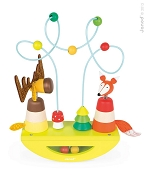 *Janod Zigolo Elk & Fox Looping Stacker