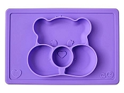 *ezpz Care Bear Mat Share Bear - Purple