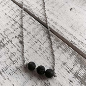*Healing Hollow Lava Diffusing Chain - Trio Beads