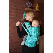 LennyLamb Ergonomic Wrap Conversion Carrier - Baby - Northern Leaves