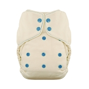 Thirsties Natural Fitted Cloth Diaper - One-Size