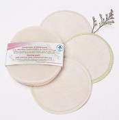 Oko Creations Nursing Pads with Merino Wool Topper - 2 Pairs