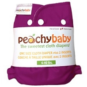 Peachy Baby One-Size Cloth Diaper Set
