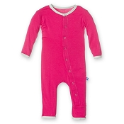 KicKee Pants Fitted Coverall - Prickly Pear with Aloe