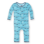 KicKee Pants Fitted Coverall - Confetti Skunk