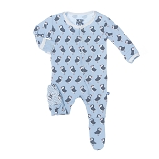 KicKee Pants Footie - Pond Puffin
