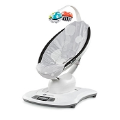 4moms mamaRoo Infant Seat 3.0 - Silver Plush