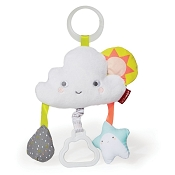 *Skip Hop Silver Lining Cloud Jitter Stroller Baby Toy