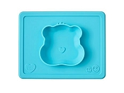*ezpz Care Bear Bowl Wish Bear - Teal