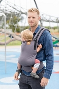 *Tula Free-to-Grow Baby Carrier - Stormy