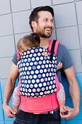 Tula Ergonomic Baby Carrier - Trendsetter Coral