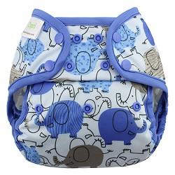 Blueberry Capri Cloth Diaper Cover - Snap - ONE-SIZE