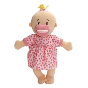 *Manhattan Toy Company Wee Baby Stella Doll - Peach