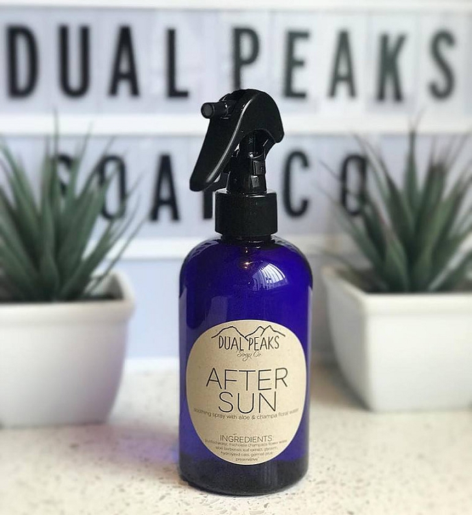 *Dual Peaks After Sun Soothing Spray