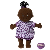 *Manhattan Toy Company Wee Baby Stella Doll - Purple and White Dress