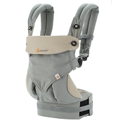 *Ergobaby ERGO Four Position 360 Baby Carrier - Grey